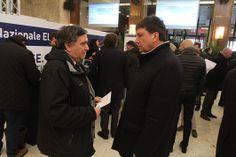 Giovanni Proia (presidente CNA Frosinone) e  Lorenzo Tagliavanti (direttore CNA Roma)