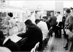 The convictions of nine South Carolina black men who integrated a whites-only lunch counter during the height of the civil rights movement were tossed out Wednesday during an emotional hearing before a packed courtroom.