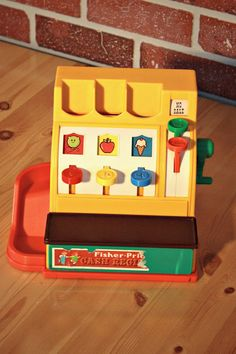 Hey, I found this really awesome Etsy listing at https://www.etsy.com/ca/listing/265842372/1974s-fisher-price-cash-register-fisher