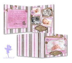 Babykarte+Geburtskarte+Gundula+von+Feenstaub+auf+DaWanda.com