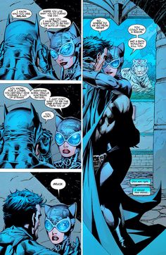 "CATWOMAN & BATMAN IN ""BATMAN: HUSH"""