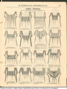 chemise necklines