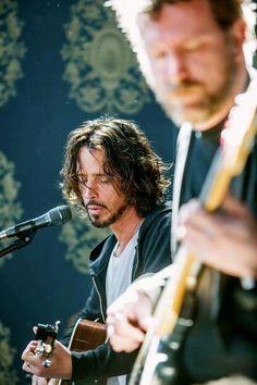 Chris Cornell. lovely......
