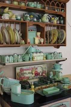 Vintage Jadeite Collection - via Magpie Ethel