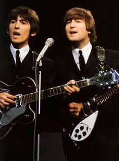 "John Lennon on Twitter: ""Happy Birthday George!… """