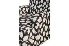 Abigail Chair, Black Spots