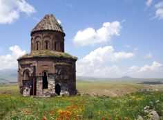 """The Ancient Ghost City of Ani  Situated on the eastern border of Turkey, across the Akhurian River from Armenia, lies the empty, crumbling site of the once-great metropolis of Ani, known as """"the city of a thousand and one churches."""" Founded more than 1,600 years ago, Ani was situated on several trade routes, and grew to become a walled city of more than 100,000 residents by the 11th century. In the centuries that followed, Ani and the surrounding region were conquered hundreds of times –…"""