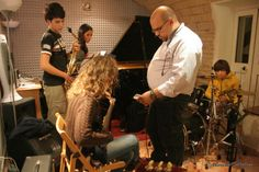 David accorda la chitarra di benedetta