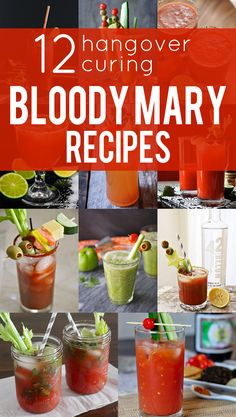 Cure Your Hangover with These 12 Bloody Mary Recipes