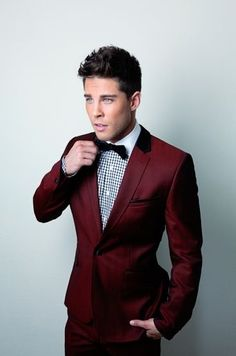Dean Geyer. Bespoke. Men's Tuxedo
