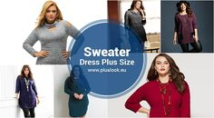 Plus size sweater dresses for fall 2017 - http://pluslook.eu/?p=42541. #dress #woman #plussize #dresses