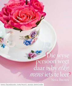 Afrikaanse Quotes, Godly Woman, Printable Quotes, Dear God, Friendship Quotes, Vs Pink, Tea Cups, Projects To Try, Tableware