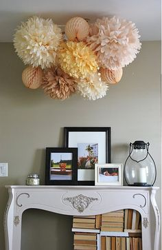 I've tossed about the idea of doing something like this in Caroline's room.