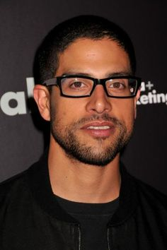 Adam Rodriguez, fine even with glasses on! Michael Rodriguez, Beautiful Men, Beautiful People, What Makes A Man, Latin Men, Stud Muffin, People Of Interest, Attractive People, Thing 1