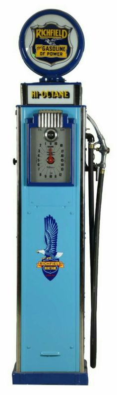 Richfield Hi-Octane Gas Pump