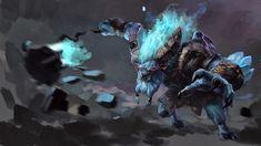 Charging Barathrum Wallpaper, more: http://dota2walls.com/spirit-breaker/charging-barathrum