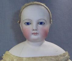 """Pretty 14"""" Barrois French Fashion, hairline from fireweedgallery on Ruby Lane"""