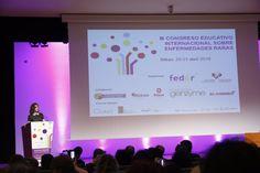 La Reina Consorte Doña Letizia clausura el III Congreso Educativo Internacional sobre Enfermedades Raras. 21-04-2016