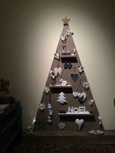 Albero di Natale in legno fai da te