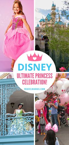 Disney Princesses teach valuable lessons, like Tiana who demonstrates the importance of working hard and following your dreams, and Merida who shows that bravery pays off. Learn about the Disney Ultimate Princess Celebration and learn expert tips for visiting Disneyland with kids from Travel Mamas! #ad #disneyland #disneyprincess #disney #ultimateprincesscelebration Disney World Vacation, Disney Cruise Line, Disney Vacations, Disney Travel, Usa Travel, Travel Tips, Travel Destinations, Disney World Tips And Tricks, Disney Tips