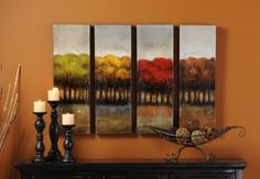 Four Seasons Canvas #kirklands #artwalls