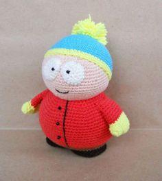 Eric Cartman amigurumi pattern free