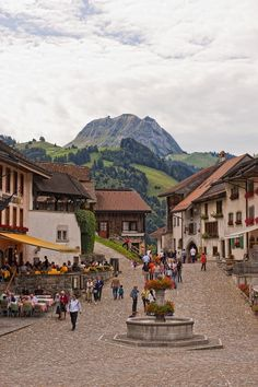Gruyeres - Switzerland