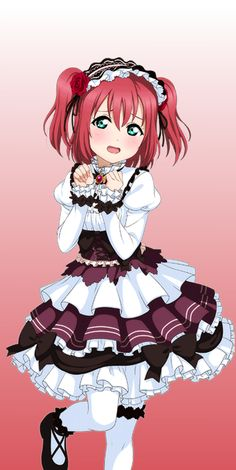 † Ruby Kurosawa † Edit by xSachiyo † Pinterst.com/xSachiyo/ † Event SR Card †