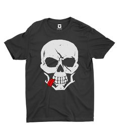Sassy Death Skull tee shirt by OniTees. This has to be one of the coolest shirts I have ever seen...I want it!