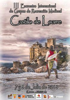 III ENCUENTRO INTERNACIONAL CASTILLO DE LOARRE Castles, Poster, History