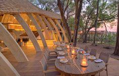 andBeyond Sandibe Okavango Safari Lodge - Botswana. TravelPlusStyle.com