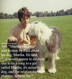 Paul and Martha (my dear)