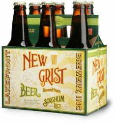Brewery in Milwaukee, WI, makes a variety of different beers, including its gluten-free New Grist beer, a pale beer crafted from sorghum and rice. Gluten Free Hot Dogs, Gluten Free Crisps, Gluten Free Beer, Gluten Free Recipes, Dairy Free, Session Ale, Gluten Free Alcohol, Gluten Free Restaurants, Homemade Beer