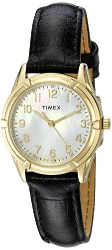 Timex Women's TW2P762009J City Collection Watch with Black Band >>> Check out this great product.
