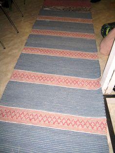 rödgrå matta