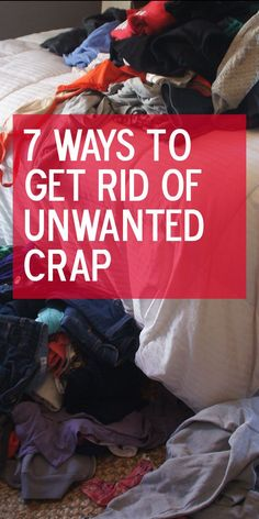 How to consign, sell & donate your unwanted crap. #declutter