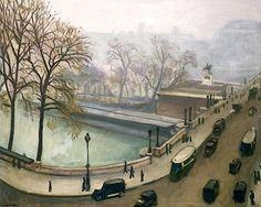 View of the River Seine, c.1935 - Albert Marquet