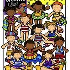 This 22-piece set is full of fun in the sun! Included are 12 vibrant, colored images and 10 black and white version (not shown in the preview).   *...