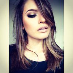Its all about drama! Adoro este maquillaje, me encanta la forma en la que puedes transformar un rostro desde algo sencillo ynatural hasta algo poderoso y sensual como este, definitivamente uno de mis favoritos, si quieres ver losdetalles de este maquillaje ve a:http://on.fb.me/1kTNxJ1