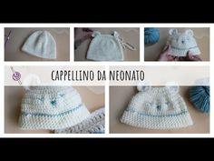 Cappellino da neonato a Uncinetto - Tutorial - YouTube Crochet Hats, Youtube, Fashion, Bebe, Hat, Knitting Hats, Moda, Fashion Styles, Fashion Illustrations