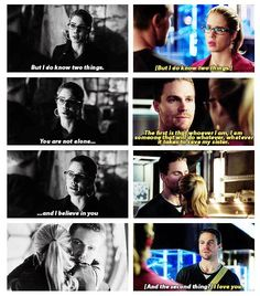 Arrow - Felicity and Oliver #2.22 #3.9 #Olicity ♥