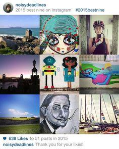 2015bestnine - noisydeadlines's best nine on Instagram in 2015
