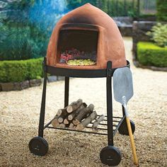 Beehive Wood-Fire Pizza Oven - The Green Head