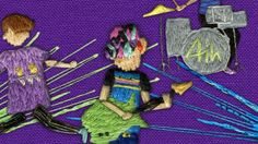 Music video sewn and animated whilst we were at Mathematics. It was inspired by the work of Megan Whitmarsh and the imagination of Cameron Bird.  The video was shown in IdN magazine as well as onedotzero's 'Craftwork' programme 2009!
