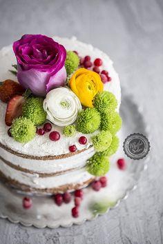 Naked Cake – Kaplamasız Pasta - Tarifin püf noktaları, binlerce yemek tarifi ve daha fazlası...