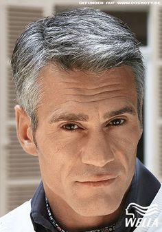 Frisuren Für Graue Haare Männer Männer Pinterest Graue Haare