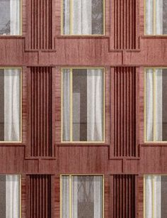 Classic facade Nik Vandewyngaerde Academic Classic facade Nik Vandewyngaerde Academic The post Classic facade Nik Vandewyngaerde Academic appeared first on Architecture Diy. Brick Design, Facade Design, House Design, Building Layout, Building Facade, Brick Architecture, Architecture Details, Facade Pattern, Co Working