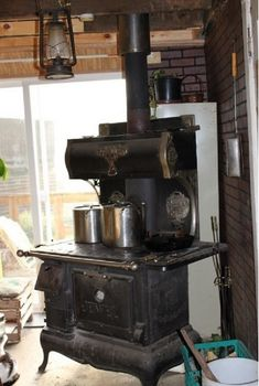 There's Beauty In The room: 15 Vintage Cook Stoves