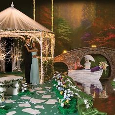 Garden Paradise Complete Prom Theme