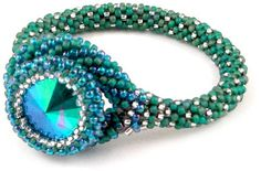 Danielle Bead Crochet Bracelet download pattern (no materials)